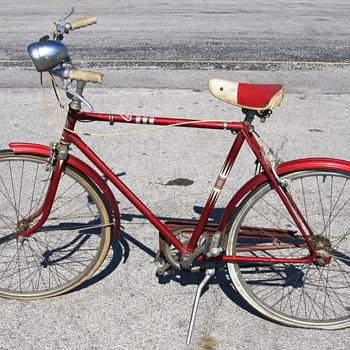 A Sears Vintage Bike - Outdoor Sports