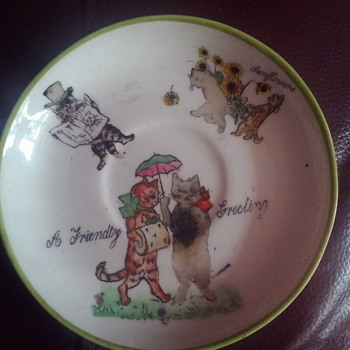 old Hammersley plate