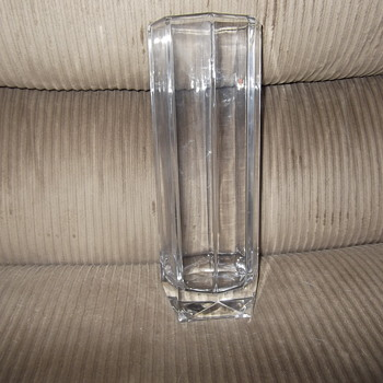 Villeroy and Boch Art Deco style vase - Glassware