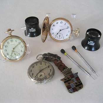 Size 12 Pocket Watches.
