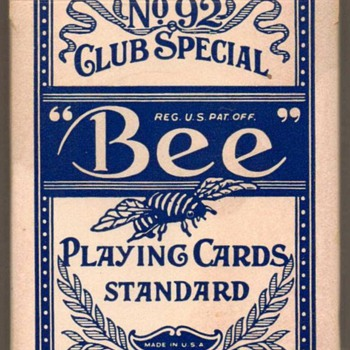 """Bee"" Playing Cards - Sahara Hotel-Casino - Cards"