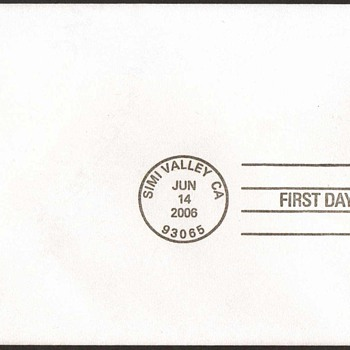 2006 - Ronald Reagan Stamp First Day Cover