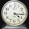 Nickel Westclox Ben Hur Clock Circa 1925