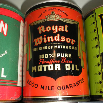 new can in collection - Petroliana