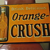 1926 Orange Crush Sign