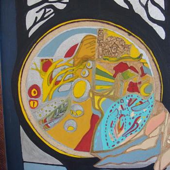 abstract painting - Visual Art