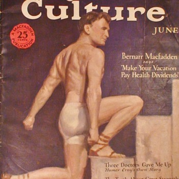 Physical Culture Magazine June 1928 - Paper