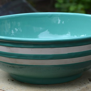 Large Turquoise Bowl