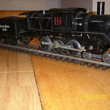 Marx Prototype  CamleBack  engine - Model Trains