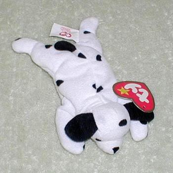 """1999 - TY Teenie Beanie """"Dotty"""" - Toys"""