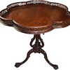 Eagle claw foot tea table