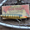 Unmarked fishing lure and box