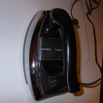 My vintage 1950's General Electric Iron