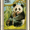 "1974 - Mongolia ""Common Panda"" Postage Stamp"