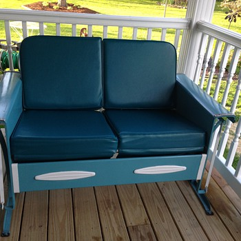 Early Mid Century Porch Glider - Furniture