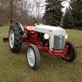1952 Ford 8N that I rescued  - Tractors