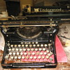 Early 1900's Underwood Standard typerwriter
