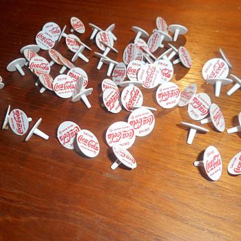Coca Cola Golf Ball Markers