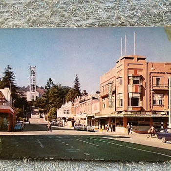 1973-old postcards- Nelson city- New Zealand. - Postcards