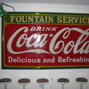 Coca Cola Sign - Advertising