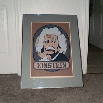 Albert Einstein Lithograph - Numbered 5/15 - Posters and Prints