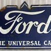 FORD Porcelain sign doublesided