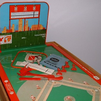 "1960s Tudor ""Tru•Action"" Electric Baseball Game"