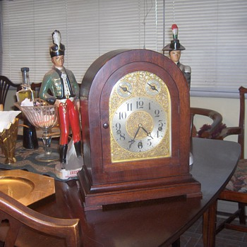 Waterbury Mantel Chime Clock - Purchased Dec 6,1918   - Clocks