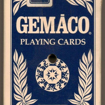 """Gemaco"" Playing Cards - Claridge Casino Hotel - Cards"