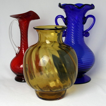 Kitaichi Glass trio - Art Glass