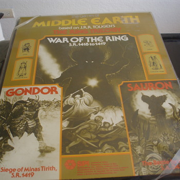 THE WAR OF THE RINGS - Games