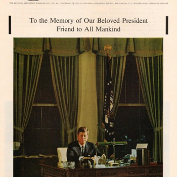John F. Kennedy Tribute Photographs