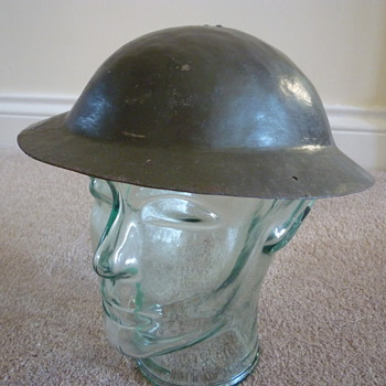British childs steel helmet