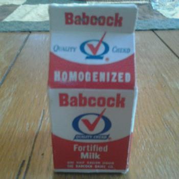 Babcock Dairy Carton Matches