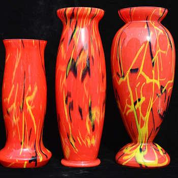 Czech cased peloton vases