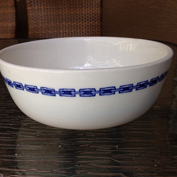 Carr china Norfolk pattern large serving bowl - Kitchen