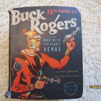 1938 Buck Rogers War With the Planet Venus Better Little Comic Book - Comic Books