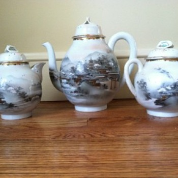asian teapots