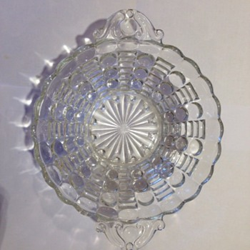 Small Clear Bonbon or Candy Dish - Glassware