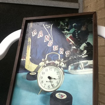 Seth Thomas New York Ranger Clock - Clocks