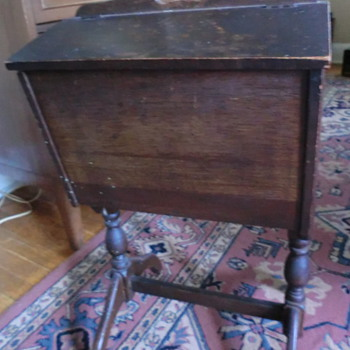 My favorite antique sewing box - Furniture