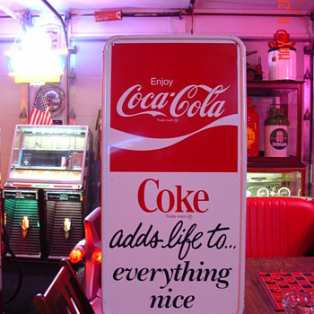 Coca-Cola Tin Sign - Coca-Cola