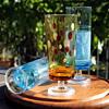 Aderia Glass goblets 1970s