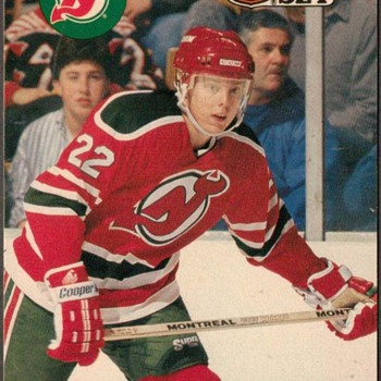 1990 - Hockey Cards (New Jersey Devils) - Hockey