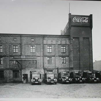 Berlin in the 1930th, Olympic Games - Coca-Cola