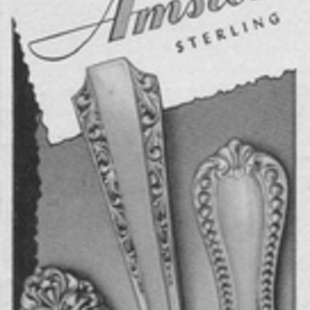 1950 Amston Silver Advertisement - Advertising