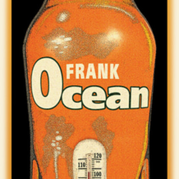 Chuck Sperry's Frank Ocean/Orange Crush poster