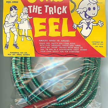Ernie the Trick Eel - Games