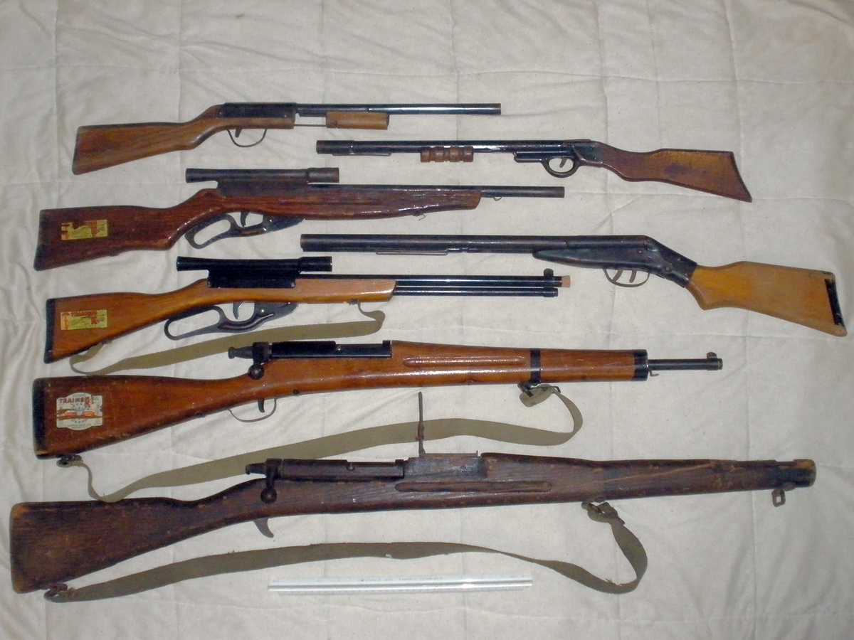 My toy gun collection, rifles and shot guns. Paris and Wyandotte : Collectors Weekly