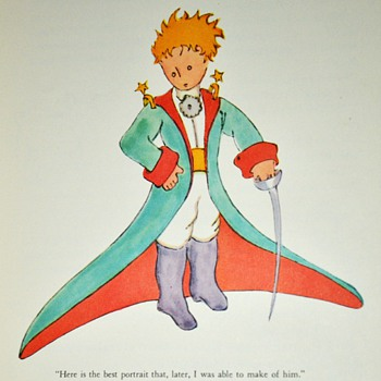 1943 Edition of The Little Prince - Books